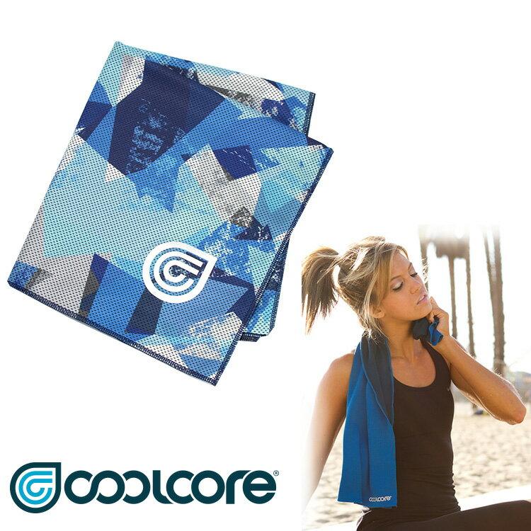 【印花系列】COOLCORE Chill Sport涼感運動巾  /  城市綠洲(涼感、降溫、運動戶外、高性能針織) 3