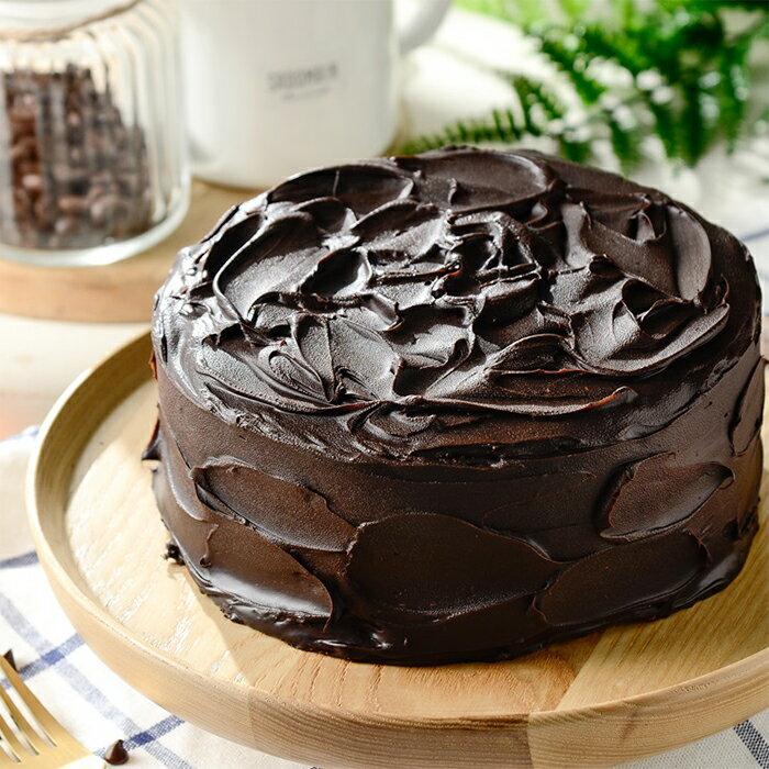 【川本岡手作工坊】/ 限時特惠 / 暗黑73深黑經典款蛋糕 / 蛋糕 / 甜點