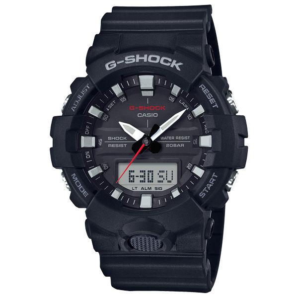 CASIOG-SHOCKGA-800-1A3D立體刻度創新雙顯流行腕錶