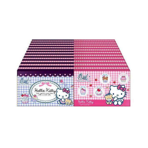 春風Kitty10抽30包袖珍包面紙