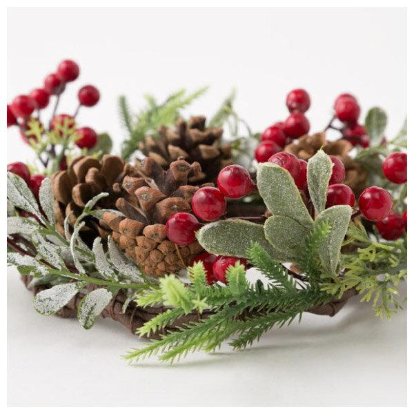 聖誕裝飾花圈 25cm RED RH02-17911 NITORI宜得利家居 5