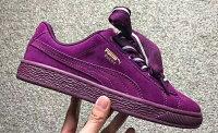 PUMA運動品牌推薦PUMA運動鞋/慢跑鞋/外套推薦到Puma Suede Heart Satin II 紫色 女款