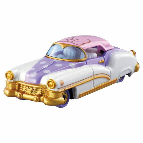 《 TOMICA小汽車 》黛西復古跑車 白色情人節