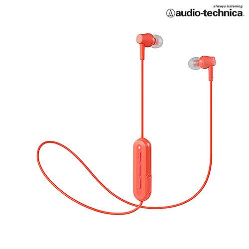 鐵三角 無線耳機麥克風ATH-CK150BT-珊瑚粉【愛買】