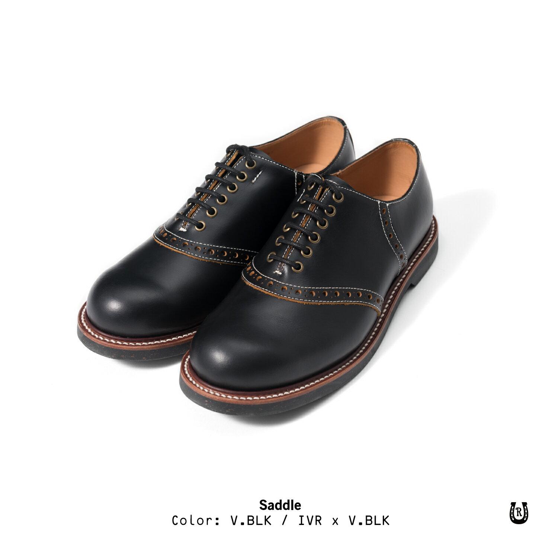 【預購八折】Retrodandy Saddle shoes 經典復古工作皮鞋 日廠Goodyear固特異手工製鞋法 1
