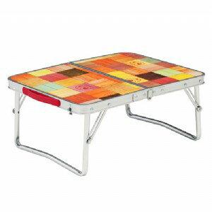 【露營趣】中和安坑 Coleman CM-26756 自然風抗菌迷你桌 休閒桌 露營桌 摺疊桌 野餐桌