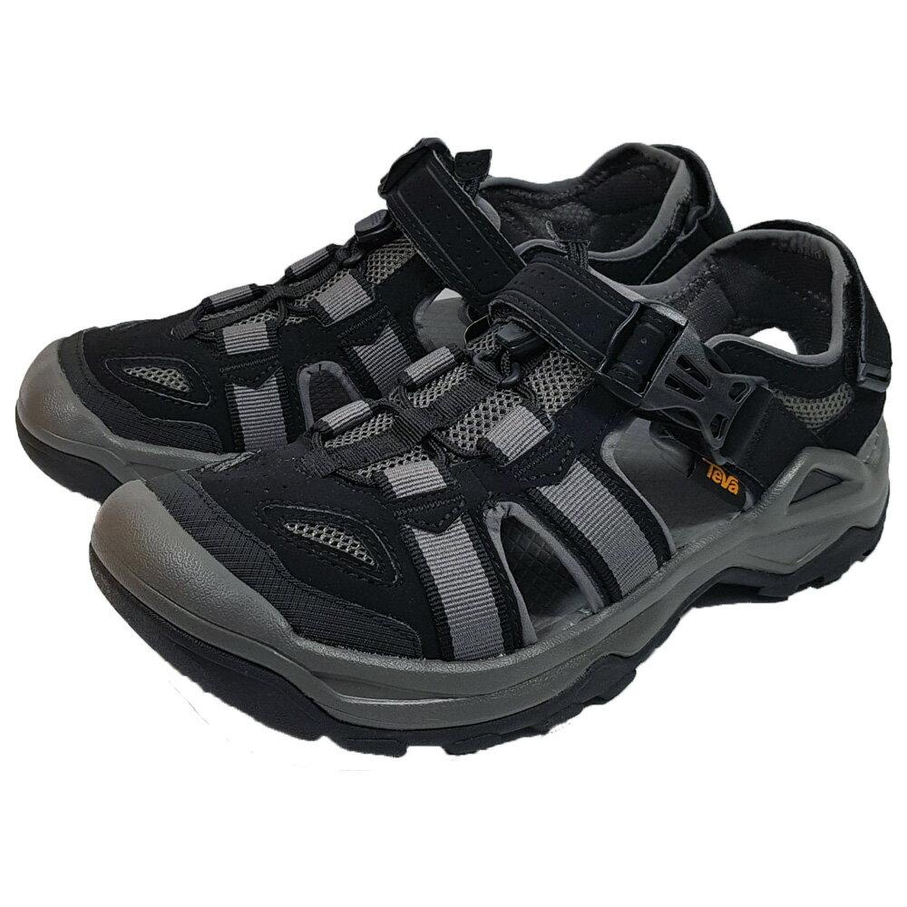 TEVA 男 OMNIUM 2 護趾水陸機能涼鞋 雨鞋 溯溪鞋 TV1019180BLK 黑 (C3)【陽光樂活】