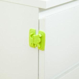 創意卡通小狗兒童安全鎖安全門卡櫥櫃冰箱安全鎖扣 19元