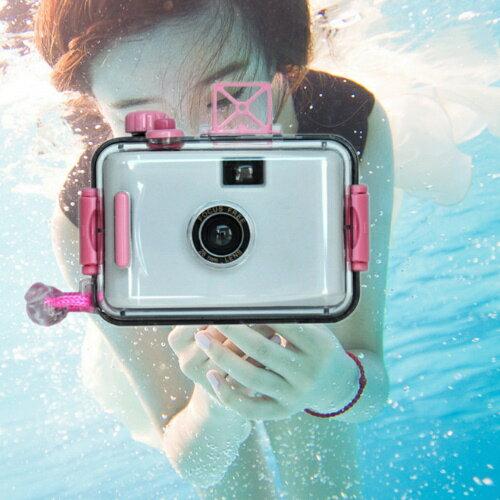 第 LOMO防水相機28mm 潛水相機 海邊衝浪浮潛游泳LOMO相機~DD404~~123