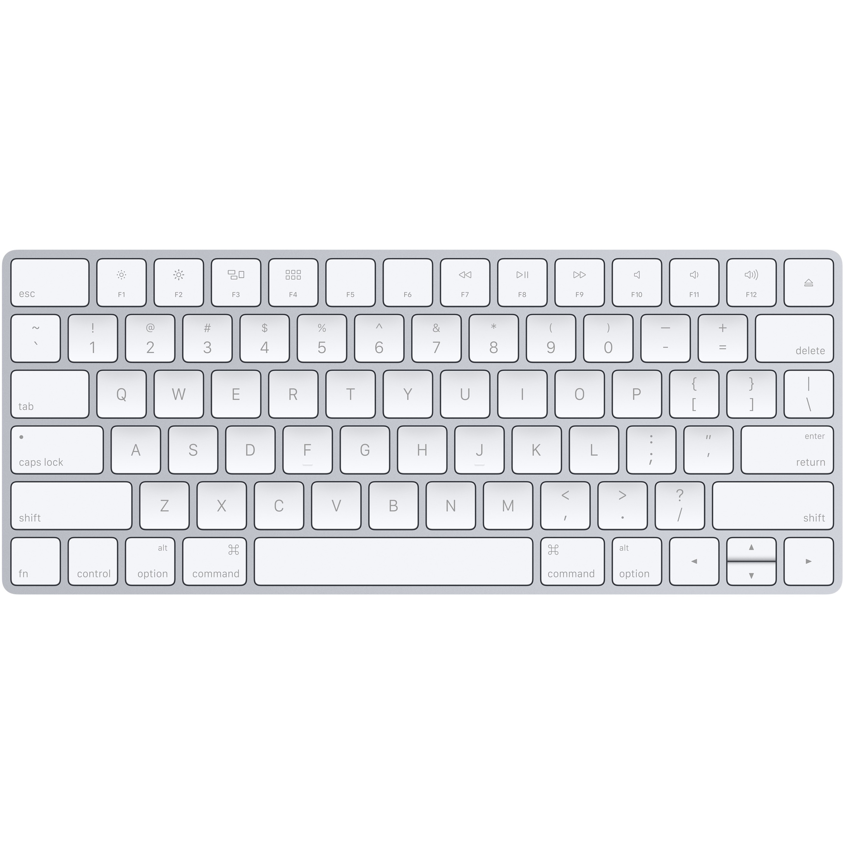 Apple Magic Keyboard - Wired/Wireless Connectivity - Bluetooth - Lightning Interface - Swedish - Compatible with Computer - Scissors 5