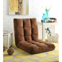 Deals on Loungie Microplush Recliner Chair