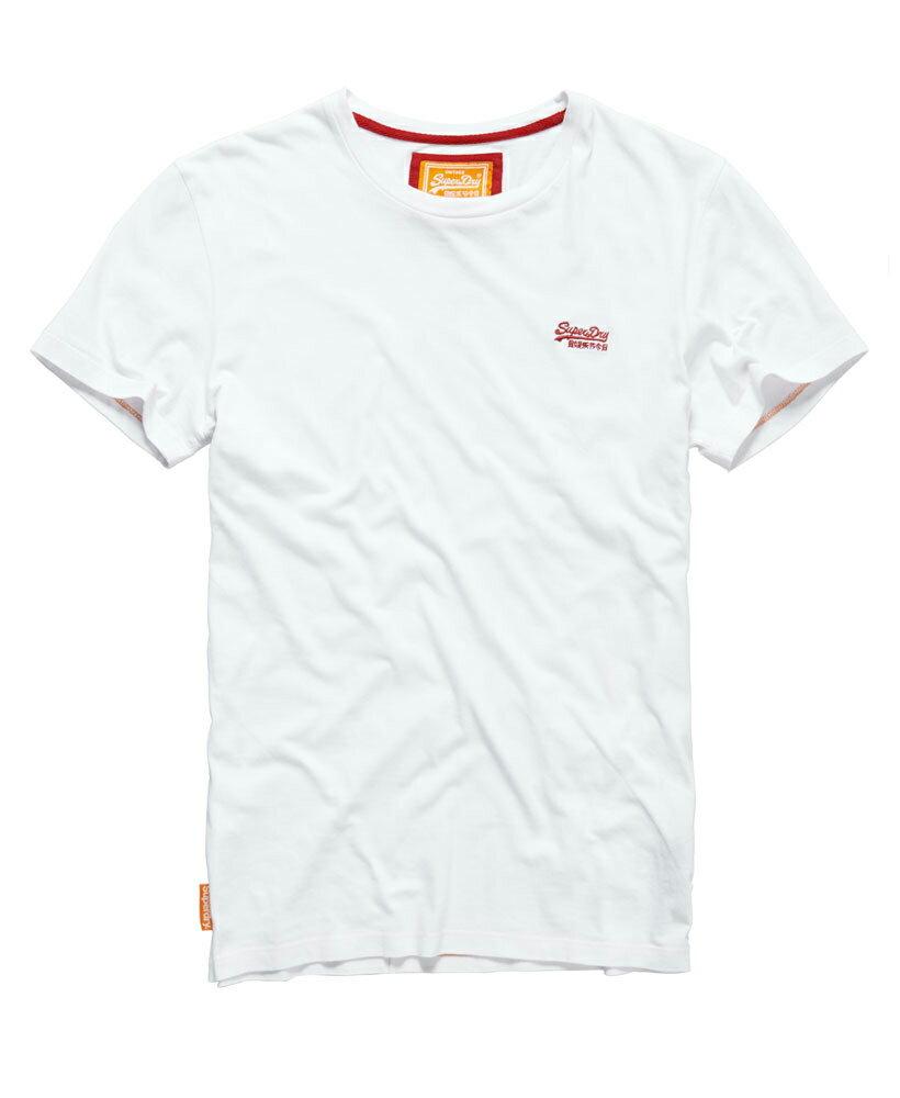 美國百分百【Superdry】極度乾燥 T恤 上衣 T-shirt 短袖 短T 圓領 經典 白 logo 素面 S M L XL XXL號 F235