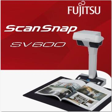 富士通ScanSnap SV600不破壞書本掃描