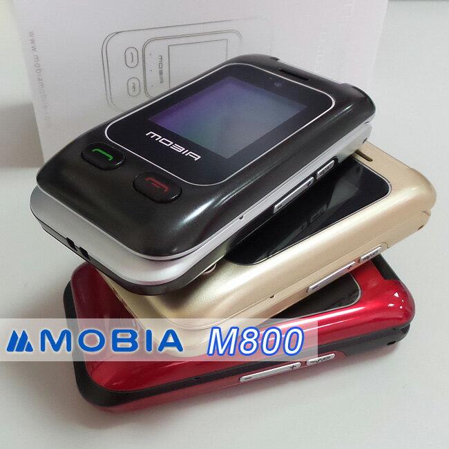 【公司貨】摩比亞 MOBIA M800 2.4吋雙卡雙待3G摺疊機◆送原廠配件盒