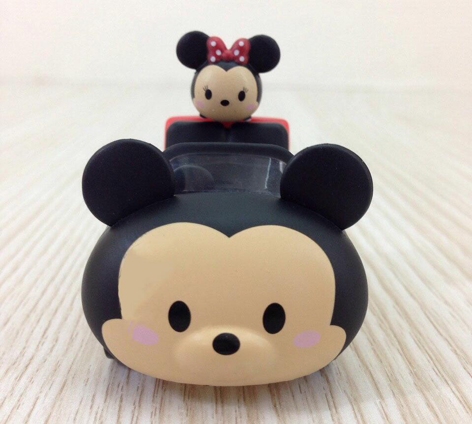 【真愛日本】15101400004 阿Q車MIX-米奇 迴力車 TAKARA TOMY 小車 收藏 迪士尼米妮 正品