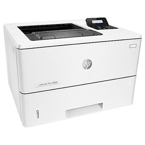 HP LaserJet Pro M501dn Laser Printer - Monochrome - 4800 x 600 dpi Print - Plain Paper Print - Desktop - 45 ppm Mono Print - Envelope No. 10, Oficio, A4, Monarch, Letter, Legal - 650 sheets Standard Input Capacity - 100000 Duty Cycle - Automatic Duplex Pr 1