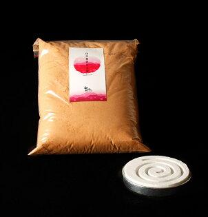 MU Life:印度老山檀香粉(600克)*贈香篆盤