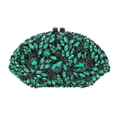 晚宴包鑲鑽手拿包-名媛高貴時尚精美女包包5色73su38【獨家進口】【米蘭精品】