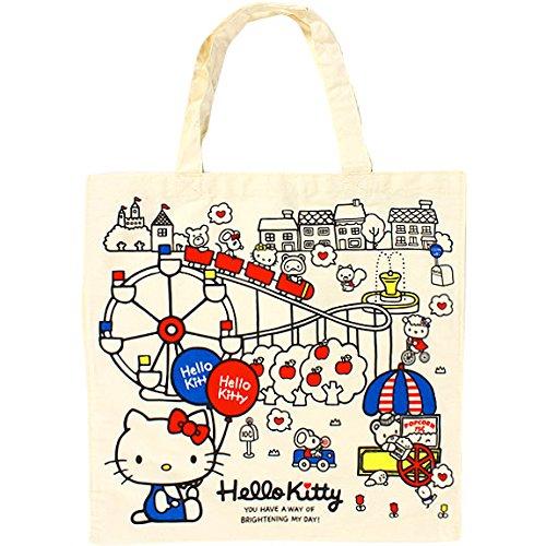 X射線【C196144】Hello Kitty 帆布提袋,手提袋/肩背包/帆布袋/收納袋/雜物袋