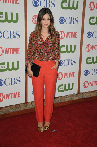 Rachel-Bilson-Wearing-An-Erdem-Resort-Blouse-And-Pants-And-Christian-Louboutin-Shoes-At-Arrivals-For-Cbs-The-Cw-And-Showtime-Summer-2011-Tca-To