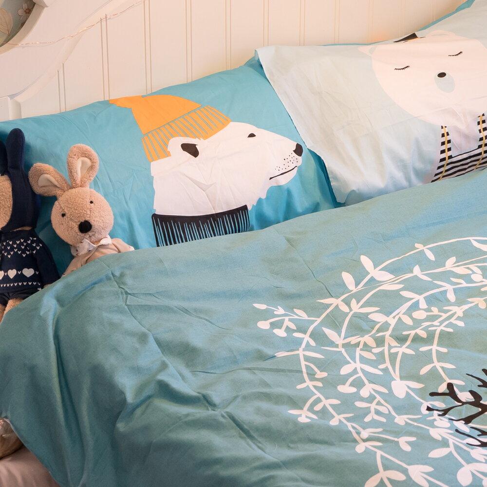 《限時免運》尋鹿物語床包/被套/兩用被/枕套 單品賣場 100%高織密度純棉 台灣製造
