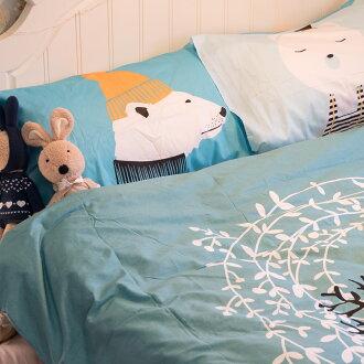 尋鹿物語  床包/被套/兩用被/枕套 單品賣場 100%純棉 高織密度133X72
