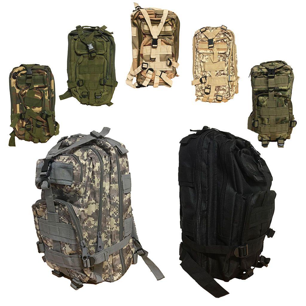 08dc0c46297e Felji  30L Military Molle Camping Backpack Tactical Hiking Travel ...