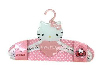 【真愛日本】16081000001造型壓克立衣架-KT粉  三麗鷗 Hello Kitty 凱蒂貓 衣架 居家用品