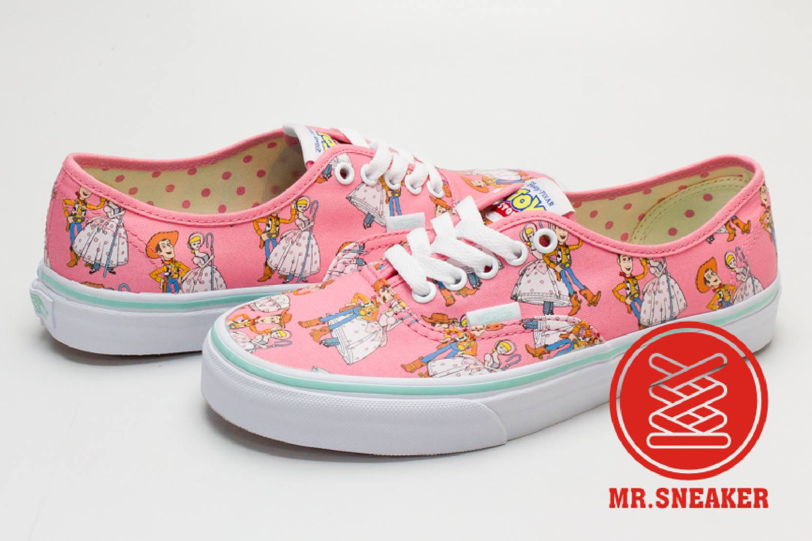 ☆Mr.Sneaker☆ VANS Authentic Toy Story 胡迪 粉 玩具總動員