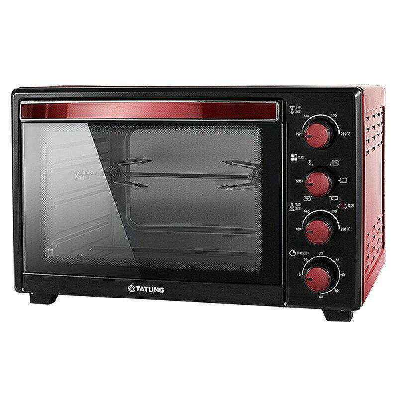 TATUNG大同 35L 雙溫控不銹鋼電烤箱 TOT-B3507A【柏碩電器BSmall】
