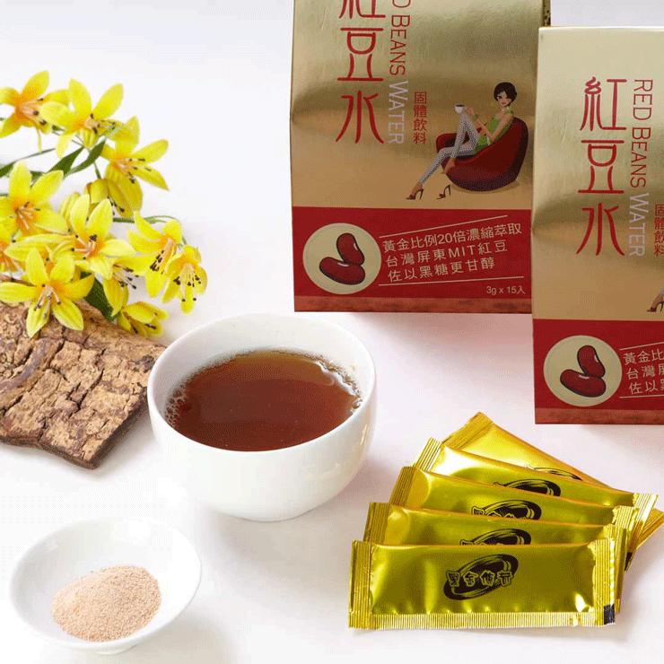 【黑金傳奇】紅豆水(每包3g x 15包,45g) 2