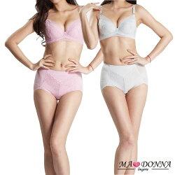 蕾絲側推包覆集中胸罩成套組 NG福利品 B-D罩2606 塑褲 內褲 內衣 B C D