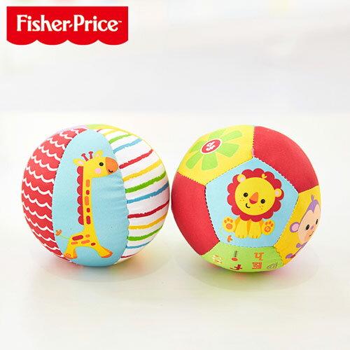 Fisher-Price 動物認知球 - 2入裝【悅兒園婦幼生活館】
