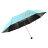 三隻小熊 黑膠鑽石秒收傘 晴雨傘 防風 抗UV 1