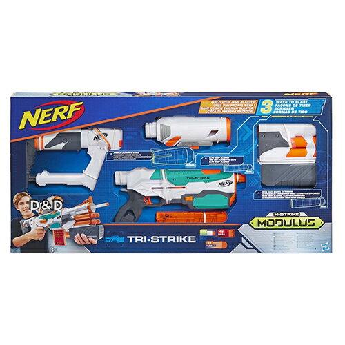《NERF 樂活》射擊 自由模組 - 三重火力迅擊 東喬精品百貨 - 限時優惠好康折扣