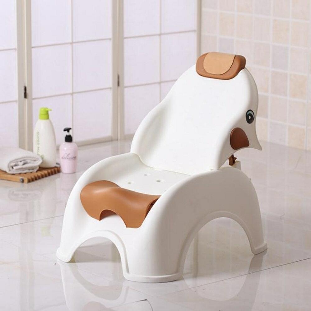 洗澡椅 兒童可折疊躺椅寶寶洗頭椅小孩洗頭床加大號嬰兒洗發架浴盆浴床 韓菲兒 聖誕節禮物