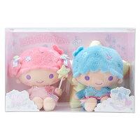 雙子星周邊商品推薦到雙子星絨毛玩偶娃娃夢幻色彩玩具箱系列KIKILALA坐姿534816海渡
