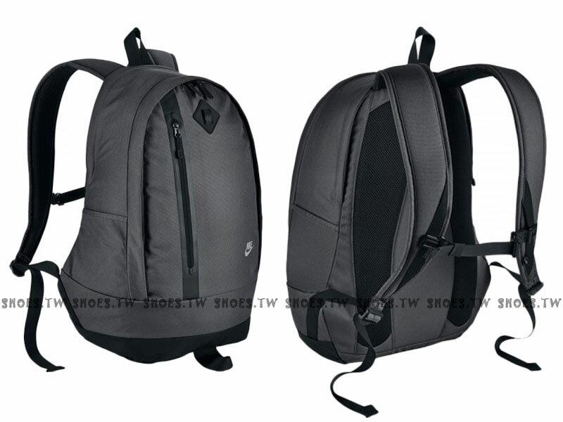 Shoestw【BA5230021】NIKE CHEYENNE 3.0 灰色 豬鼻 運動後背包
