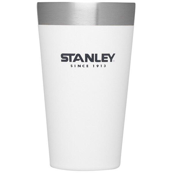 Stanley 冒險系列真空品脫杯/保溫杯 470ml 1002282 040白