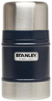 ├登山樂┤ 美國 Stanley 經典真空保溫食物杯/食物罐 0.5L 錘紋藍 #10-00131-BL