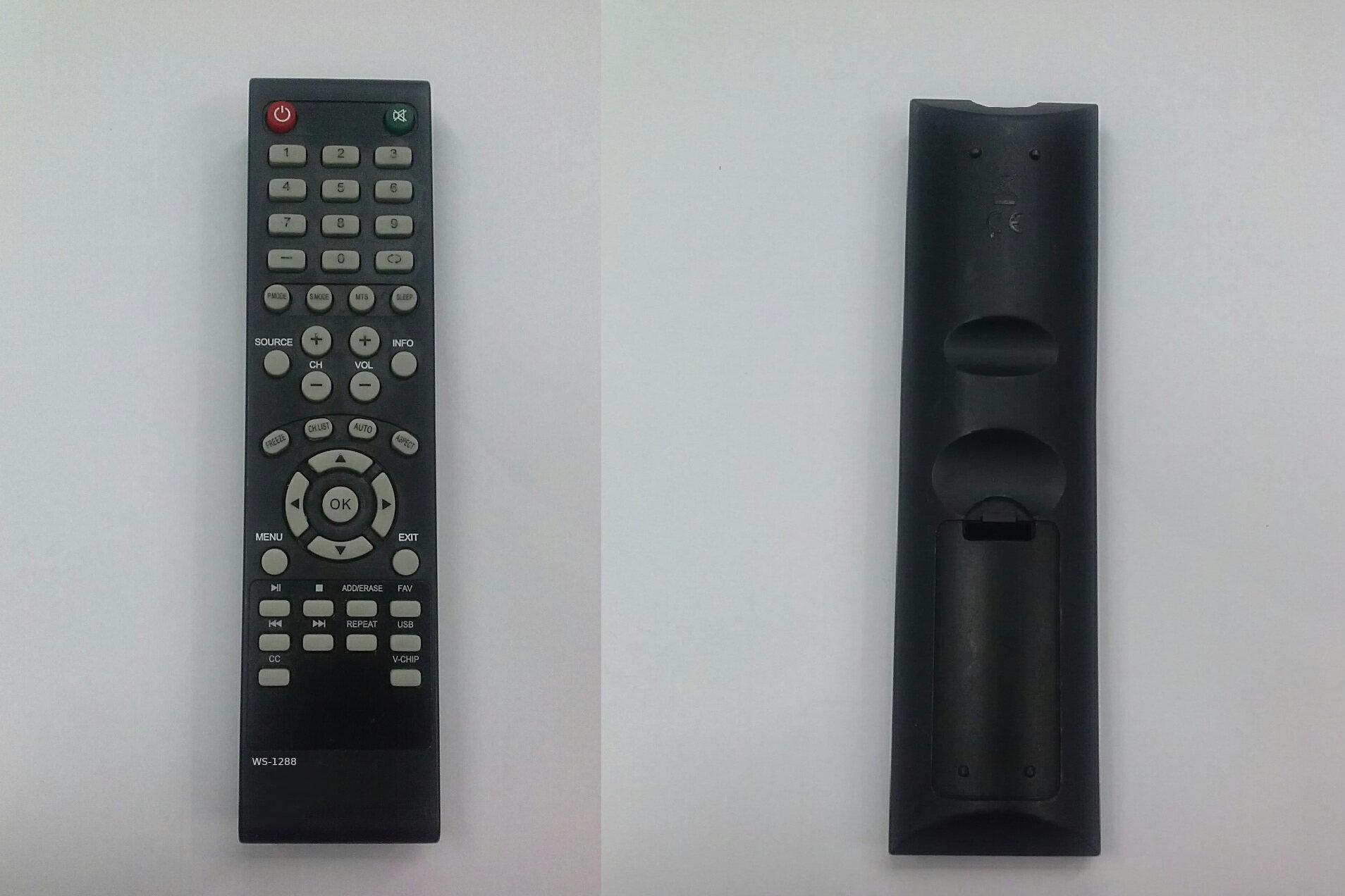 ELEMENT TV REMOTE CONTROL for ELDFW406 ELCFT262 ELDFW322 ELCFW326
