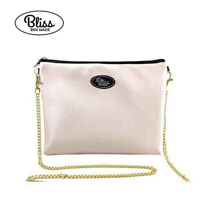 【正版】泰國BLISS BKK包手拿包側背包斜背包-質感素色粉紅  (4款背帶可選) 影片實拍 X RUNWAY FASHION ICON