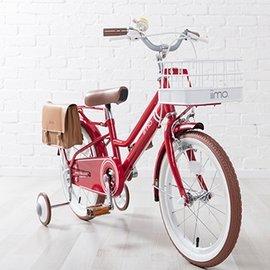 【淘氣寶寶】【日本iimo】日本iimo兒童腳踏車16吋-經典紅【保證公司貨】