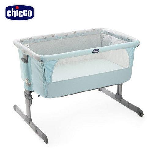 Chicco Next 2 Me 多 移動舒適嬰兒床~湖水藍~悅兒園婦幼 館~