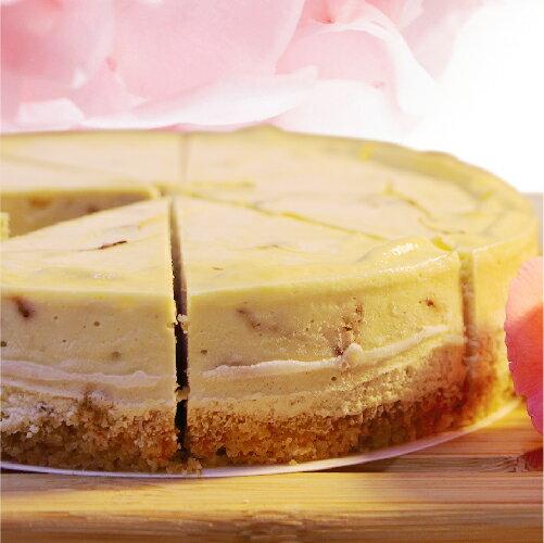 (免運)【阿妮琪烘焙屋】有機玫瑰乳酪蛋糕-6吋(蛋奶素) ❤不露餡兒的好滋味❤ #有機玫瑰製作的內餡,減糖更健康# - 限時優惠好康折扣