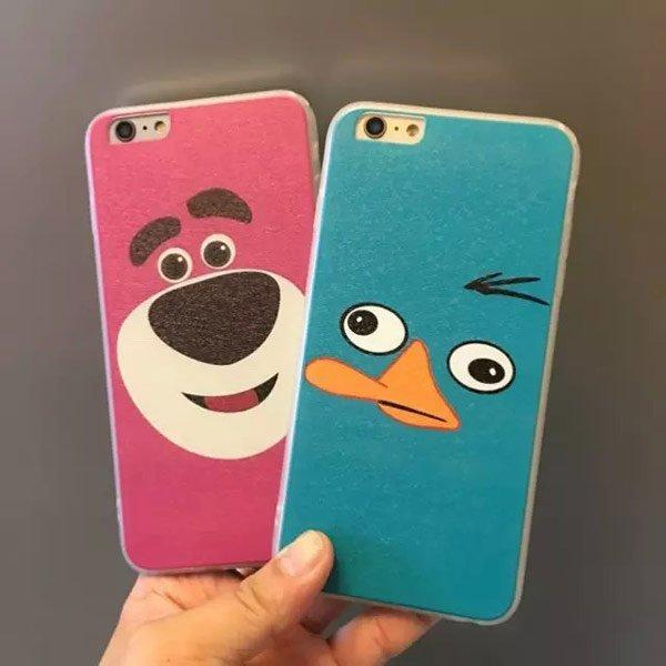 iPhone 6/6S PLUS 6S I5 5S 泰瑞 鴨嘴獸 熊抱哥 草莓熊 神燈 軟殼 保護殼 手機套