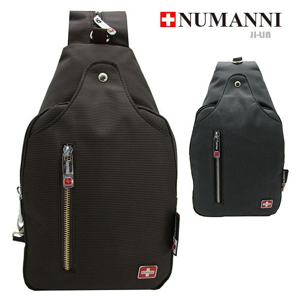 25-1019A【NUMANNI 奴曼尼】休閒尼龍扣環造型單雙肩背包 (二色)