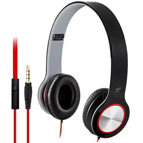 【迪特軍3C】E-books S13 智慧手機接聽鍵摺疊耳機-黑