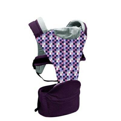 Combi Hipseat 折疊式坐墊背巾(紫迷彩)