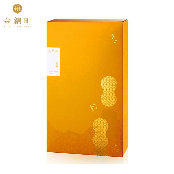 【金錦町】-喜歡禮盒(大)-青鳥金箔蜂蜜蛋糕(抹茶)/原味蜂蜜蛋糕